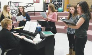 Deerfield prepares for Solo and Ensemble event