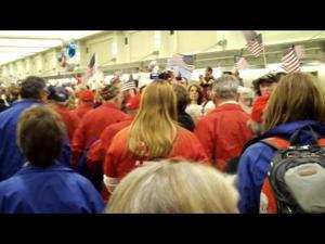 Badger Honor Flight -- Welcome Home -- 3 of 3