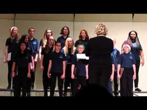 PMMS Choir Concert -- 2 of 2 -- 12-21-2015