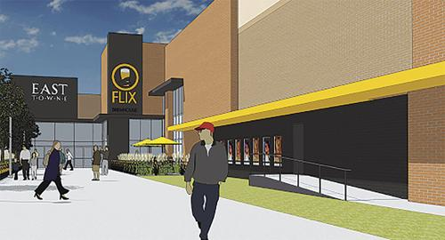 Flix, Lucky's 13 among upgrades at East Towne Mall