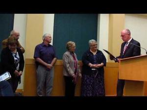Two named Reininger Award Winners -- 10-16-2016