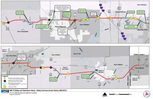 WIS 19 Safety and Operations Study, Safety Overview