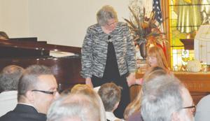 Rev. Jane talks to youth