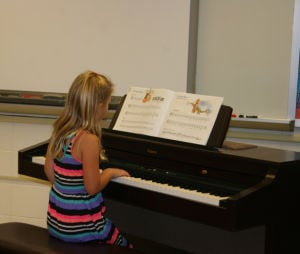 Summer piano recital