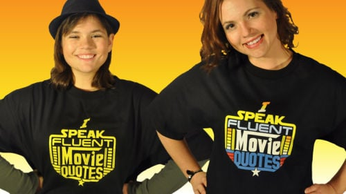 Movie quote enthusiast launches fundraising campaign