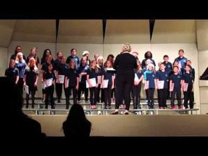 PMMS Choir Concert -- 1 of 2 -- 12-21-2015