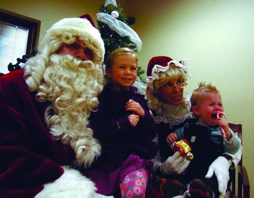 Santa at the Village Center