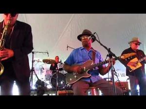 2014 Sun Prairie Blues Fest -- WC Clark and the Midwest Blues Revue
