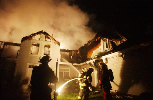 Westport apartment fire is total loss