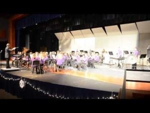 Another Song by the DAMS Eighth-Grade Band From the Dec. 3 2013 Winter Band Concert