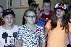 Marshall elementary student backed by peers