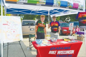 Bike Wisconsin at Deerfield Farmers Market