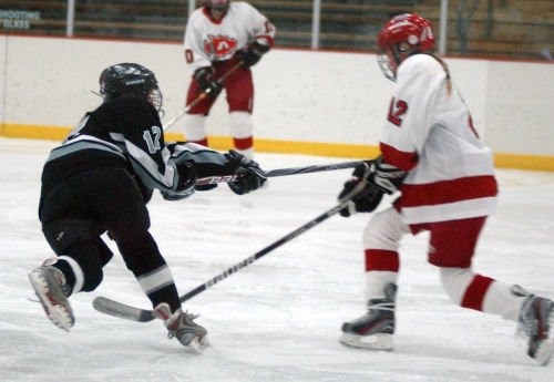 Girls hockey scores often opening night