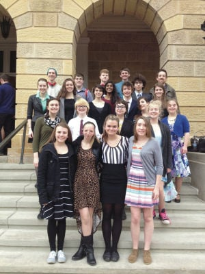 Forensics brings back medals from state