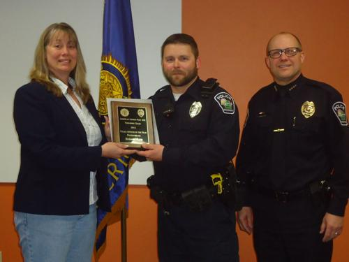 American Legion Post 333 names Police Officer of the Year