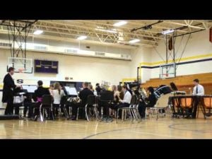 DAHS Winter Band Concert 2013 (December 5) Video 2
