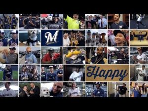 Brewers 'Happy' music video