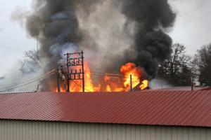 Bailey Farms flames
