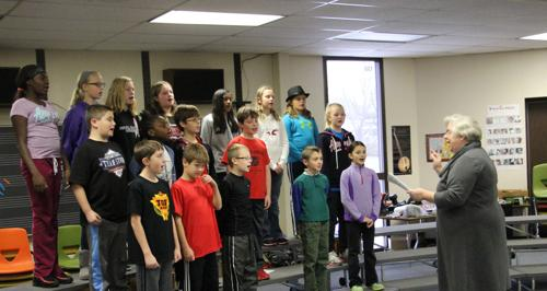 2014 Royal Oaks Fifth Grade Musical