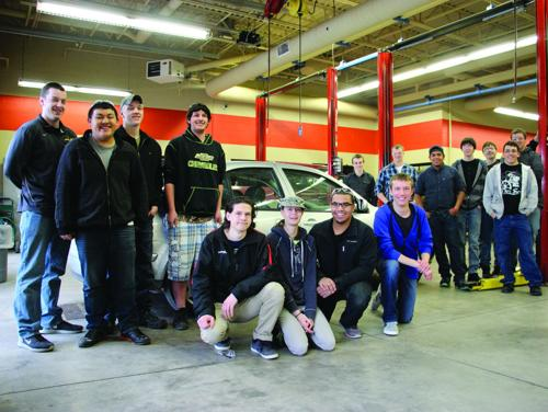 Sun Prairie's automotive program wins car