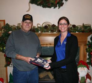 Legion flag donations
