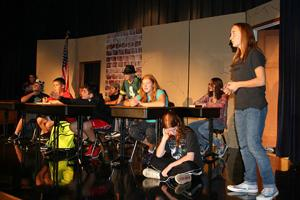 Marshall Middle School play