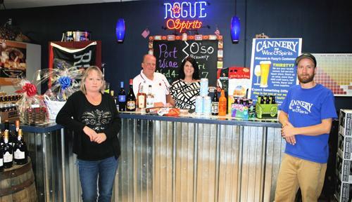 Van Tassels enjoying downtown business at Cannery Wine & Spirits