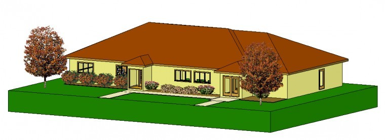 Preliminary building designs for a new Lodi town hall measure 3,460 squarelodi town