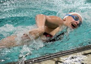 Girls Swim Swimmers Take Second At Parker Relays Milton Courier Swimming