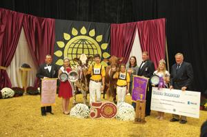 Lake Mills Youth Exhibit Grand Champion at World Dairy Expo