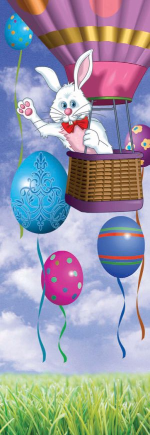 Easter Bunny Balloon drop