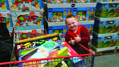Sun Prairie boy wants kids to smile, laugh