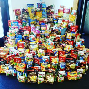 Snap Fitness Annual Food Drive