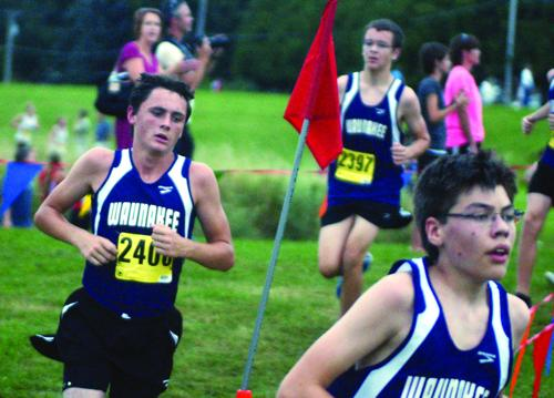 Warrior Boys Cross Country