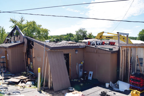 Anchors aweigh: Remnants of popular bar and grill knocked down