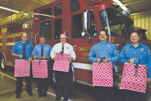 CVFD gets ready for Girl's Night Out