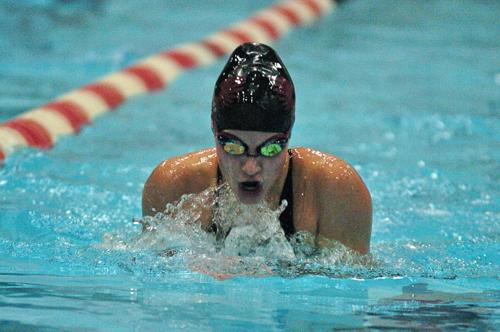 Girls Swimming: DeRemer shrugs off nerves