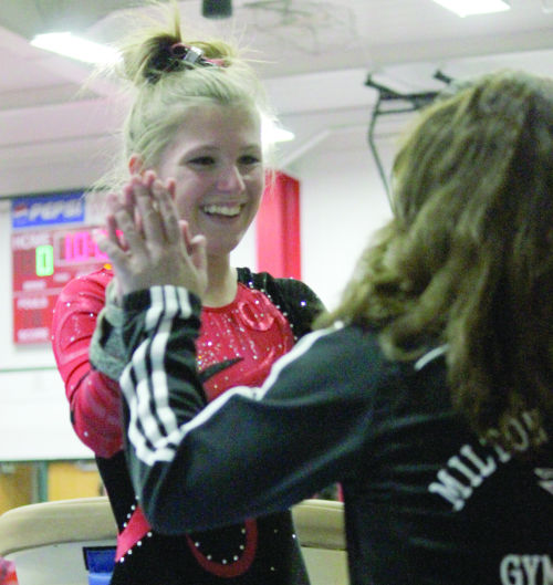 Gymnastics: Kelley qualifies for third trip to state