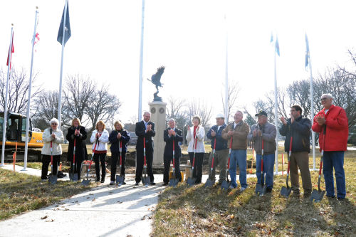 Work begins on Milton Area Veterans Memorial