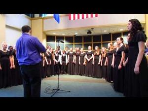 CHUMS Choir sings for Sun Prairie (WI) City Council 6-2-2015