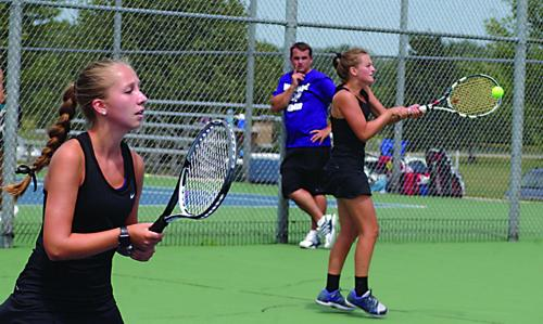 Tennis gets state ratings