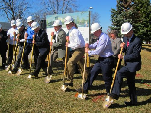 Ground broken for New Holland Pavilions