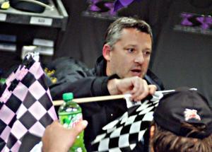 Tony Stewart at Angell Park Speedway
