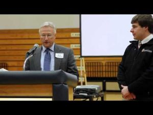 Drew Birrenkott Day - Rhodes Scholar Recognition and Celebration Assembly - Video 1
