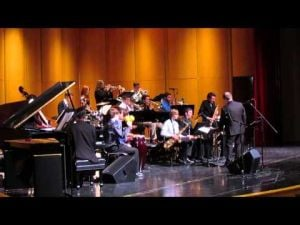 Sun Prairie Jazz Fest -- SPHS Jazz I -- Third of 3 videos -- February 15, 2014