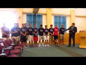 SPHS Baseball Team gets city, governor proclamations -- 8-5-2014