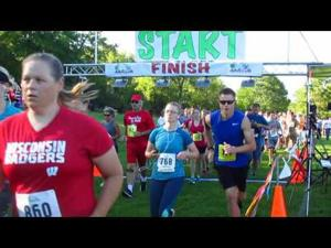 2016 Book'n It Run -- 8-6-2016 -- Start of Walk, 5K and 10K race