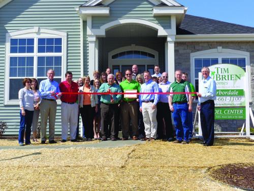 Tim O'Brien Homes cuts ribbon for Ironwood Estates
