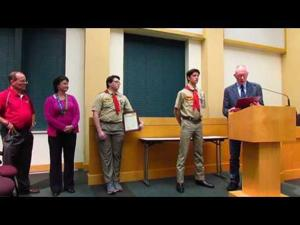Eagle Scout Proclamations -- Nov. 1, 2016