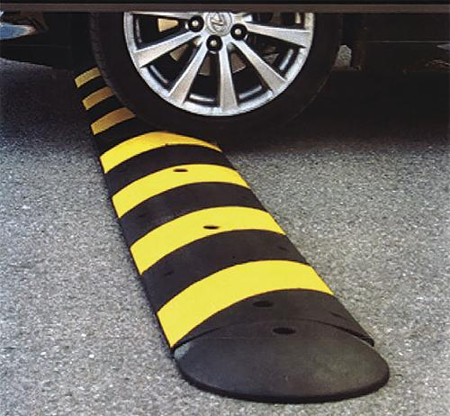 Portable speed bump use OK'd  by committee